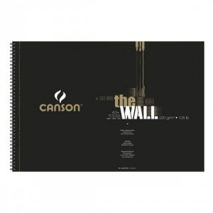 Bloc de papier Canson The Wall A3+