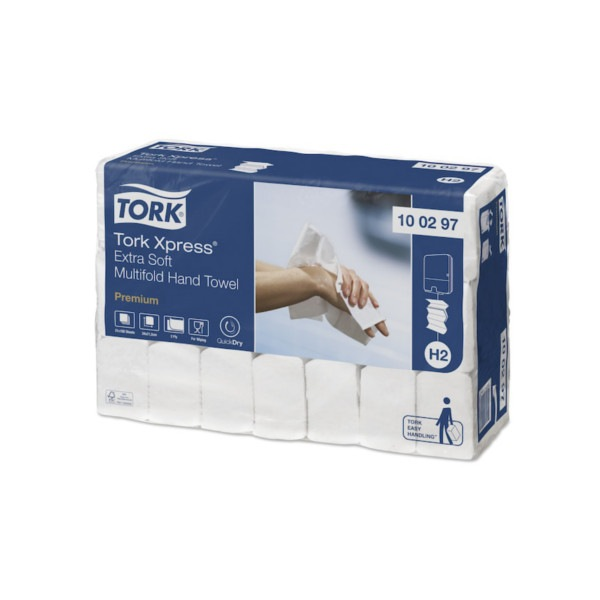 Essuie-mains interfoliés extra doux Tork Xpress 100297