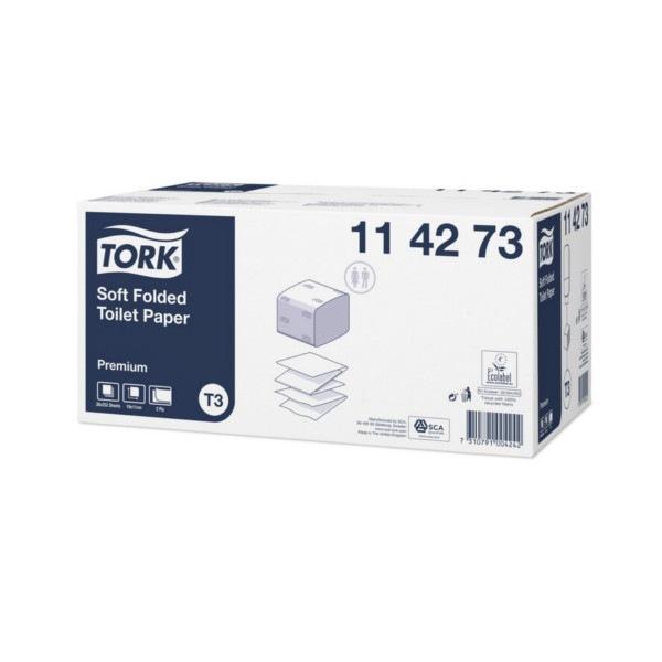 Papier toilette feuilles doux Tork Premium 114273