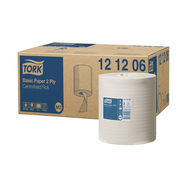 Tork Papier d'essuyage Basic Bobine Dévidage Central 121206