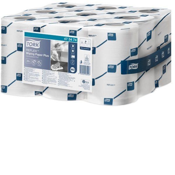 Tork Reflex Papier d'essuyage Plus Bobine Mini à Dévidage Central