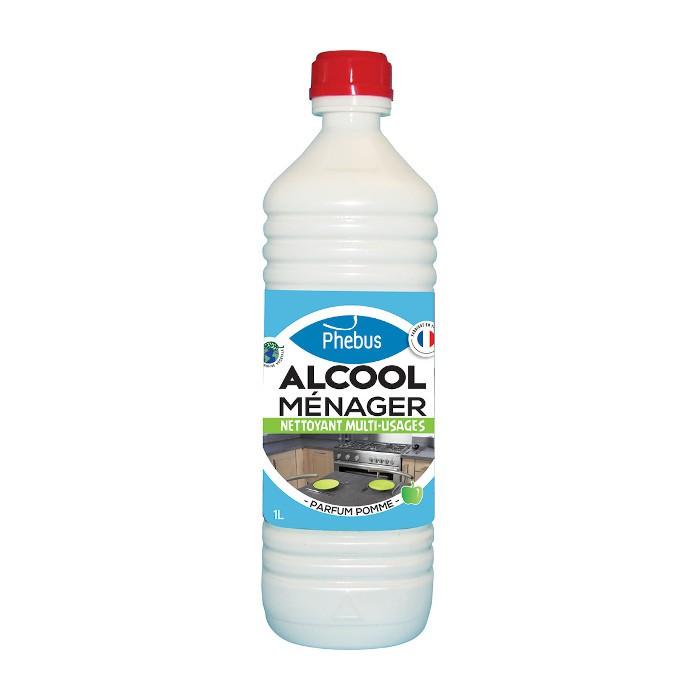 Alcool ménager pomme verte Phebus 1 L