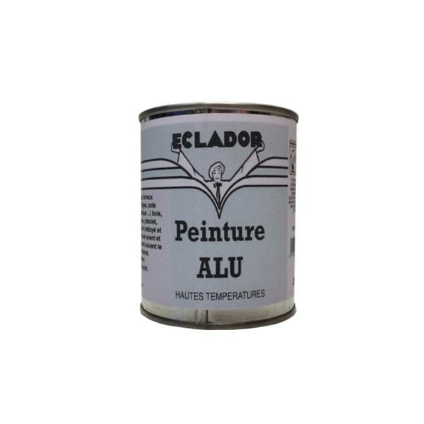 Peinture aluminium haute températures Eclador 250ML