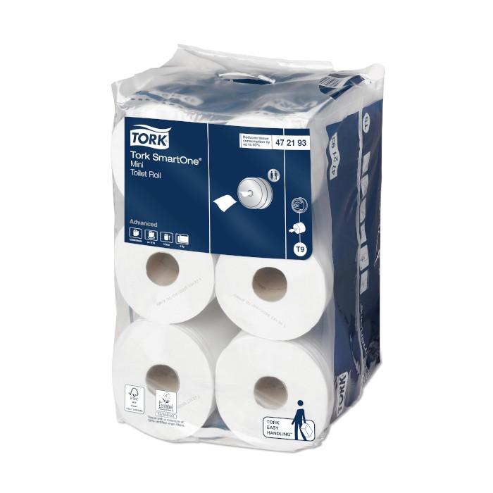 Tork SmartOne Mini Papier Toilette Rouleau Advanced par 12