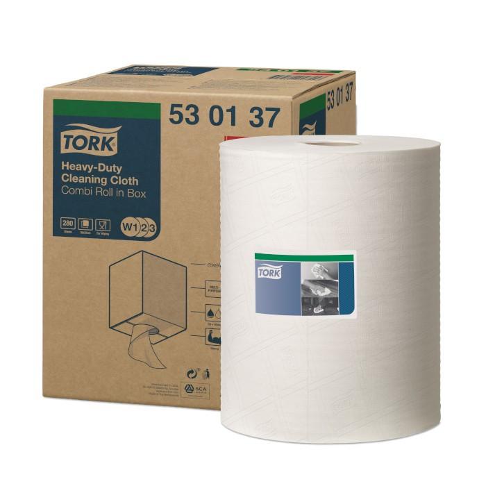 Chiffon de Nettoyage Ultra-Résistant Tork 530137