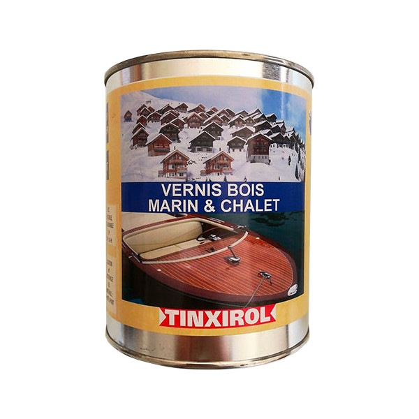 Vernis bois marin chalet Tinxirol 1L