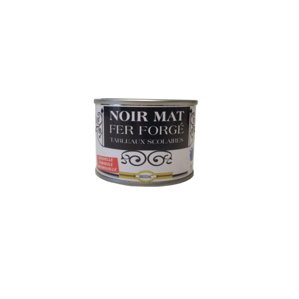 Peinture ardoise noir mat Bredac 100 ml