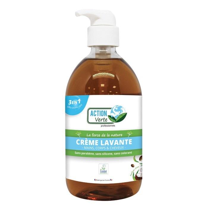 Savon mains écologique Ecolabel Action Verte 500 ml
