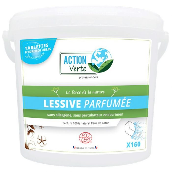 Action Verte lessive tablettes 125 lavages