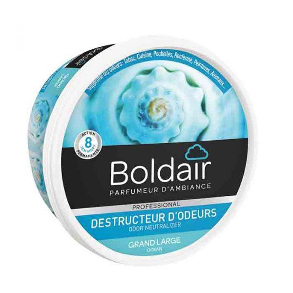 Boldair gel destructeur d'odeurs grand large