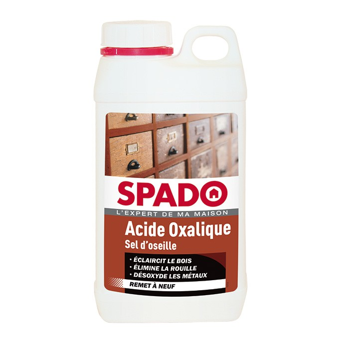Acide oxalique blanchiment du bois Spado