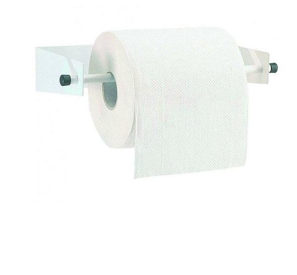 d rouleur mural blanc pour bobine papier essuyage maxi ref 53246 distriver. Black Bedroom Furniture Sets. Home Design Ideas