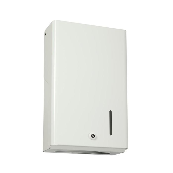 Distributeur essuie-mains 400 feuilles Blanc ref 53045