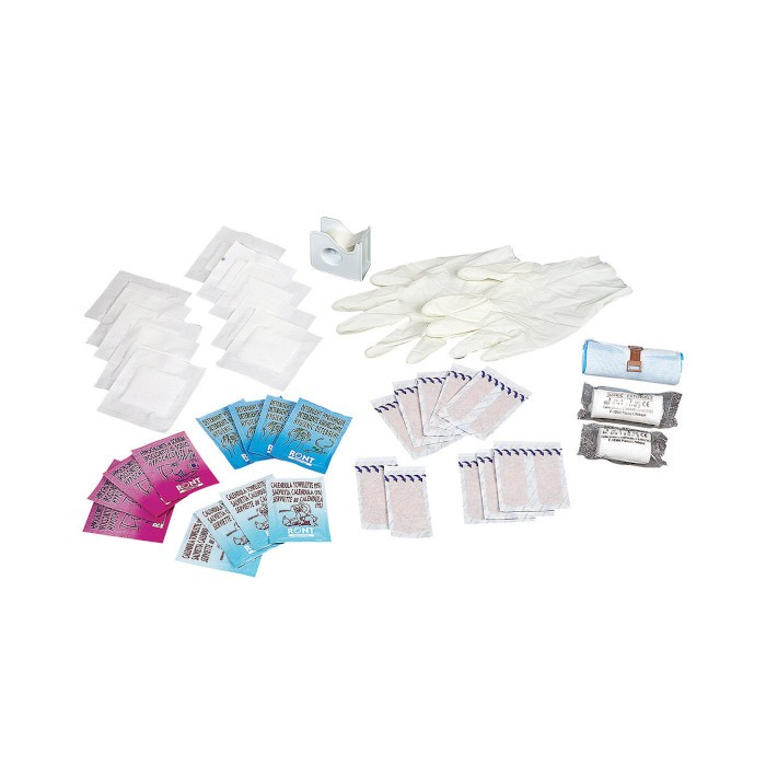 Kit consommables pour malette de premiers secours Rossignol Ref 99715