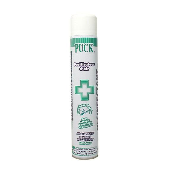 Purificateur d'air et désinfectant de surfaces aerosol