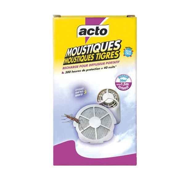 Recharge pour diffuseur portatif anti-moustiques Acto