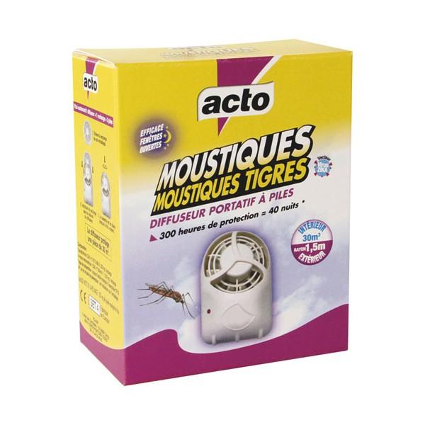 Diffuseur portatif à piles anti-moustiques Acto