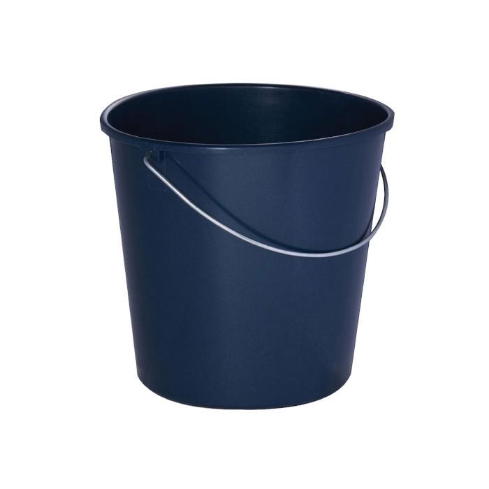 Seau en polypropylène 12 L bleu