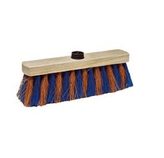 Balai coco zébré à douille 29 cm