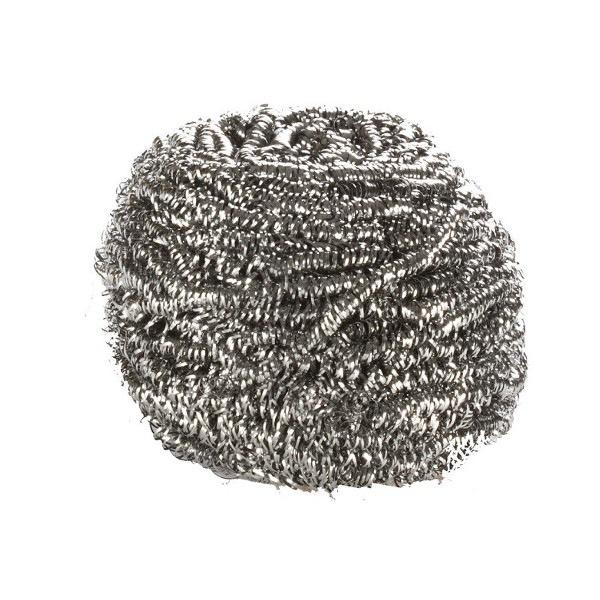 Eponge spirale inox 60 gr sachet individuel