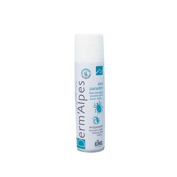 Anti parasites aerosol One shot Derm'alpes 100 ml King
