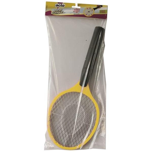 Raquette électrique mouches et moustiques Acto