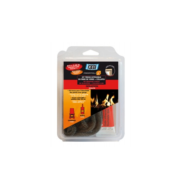 Kit Propfeu tresse extensible Diam 8mm et Collafeu Geb
