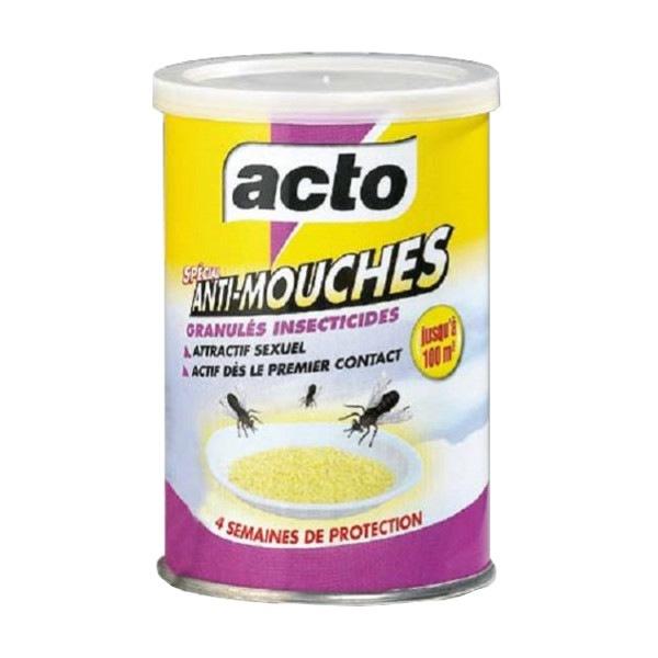 Granulés insecticide anti mouches Acto