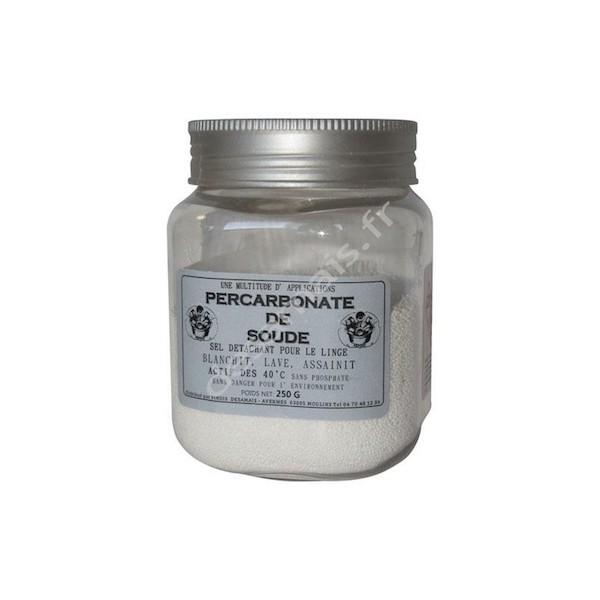 Percarbonate de soude 250g sel détachant