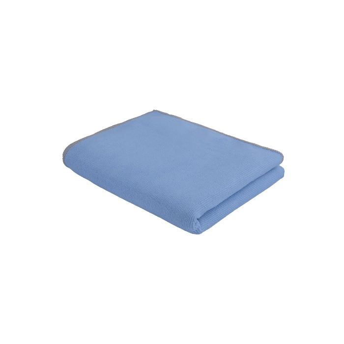 Serpillière microfibre Premium 50x60 cm bleue