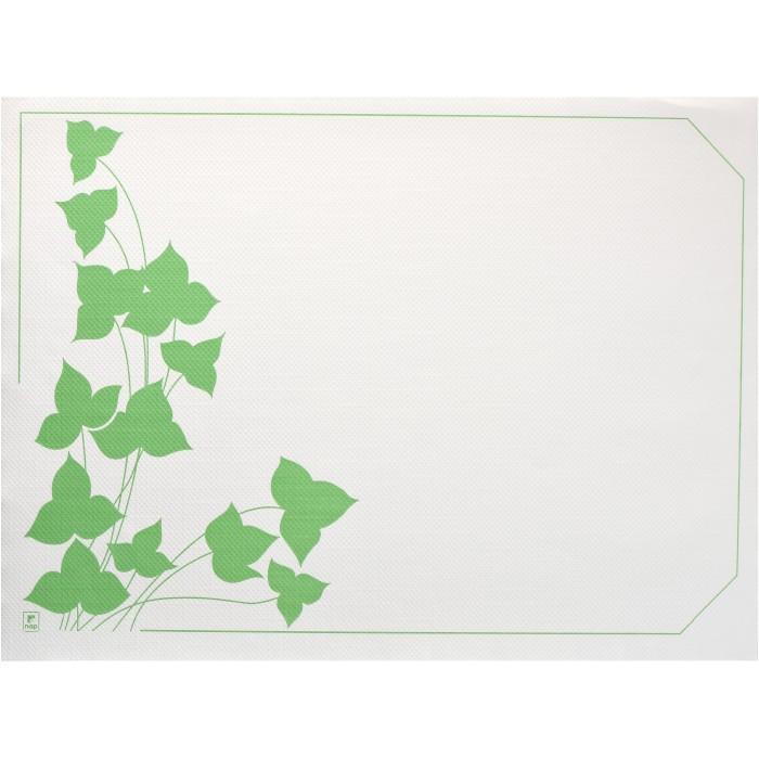 Sets de table 30 x 40 cm décor Automne vert par 500