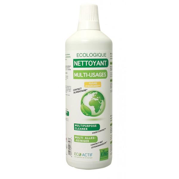 Ecolabel Nettoyant Multi-usages Fleurs d'Agrumes 1L
