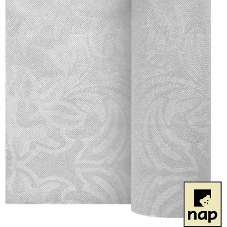 Rouleau nappe Celisoft 1,20 x 25 m couleur blanc floralies