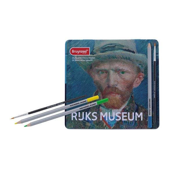 Coffret 24 crayons aquarelle Autoportrait Vincent van Gogh