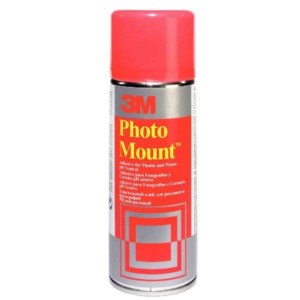 Aérosol de colle Scotch Photomount 400 ml 3M