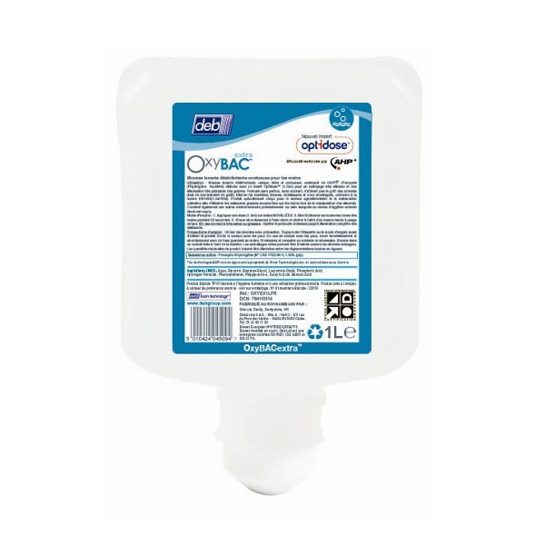 Oxybac Extra Foam Wash cartouche 1L