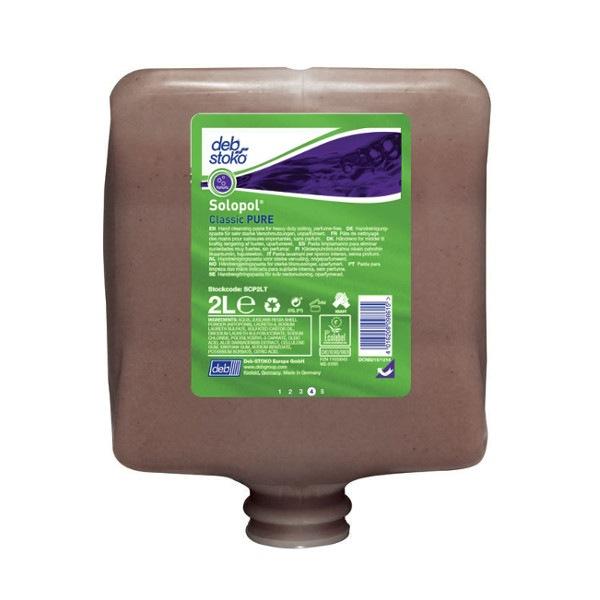 Solopol Classic Pure Cartouche 2L Ecolabel