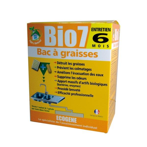 Bio  Entretien Bac  Graisse Ecogene  Sachets  Distriver