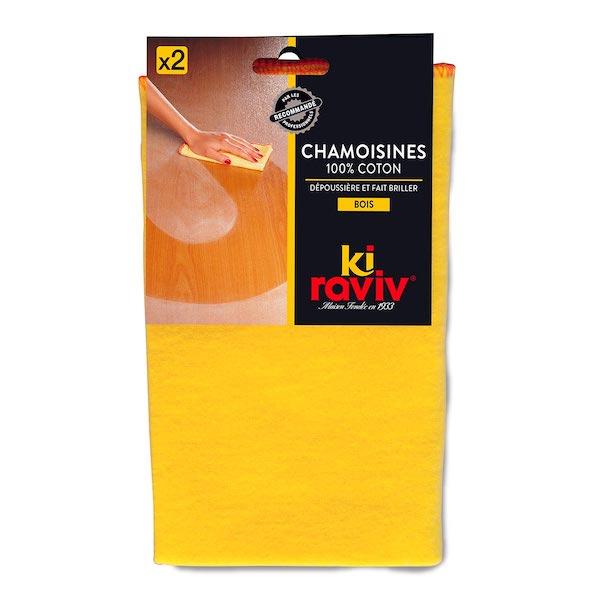 Chamoisines 100% coton Kiraviv