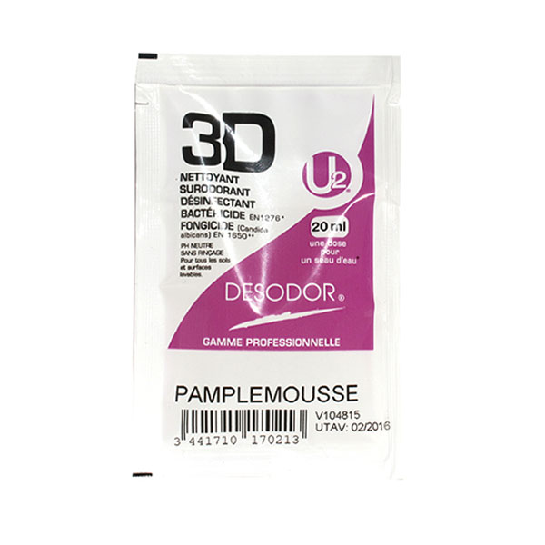 Desodor dosette 3D Pamplemousse 20 ml