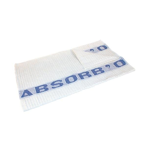 Serpillière gaufrée Blanc Absorb'O 100x60 cm Lamatex
