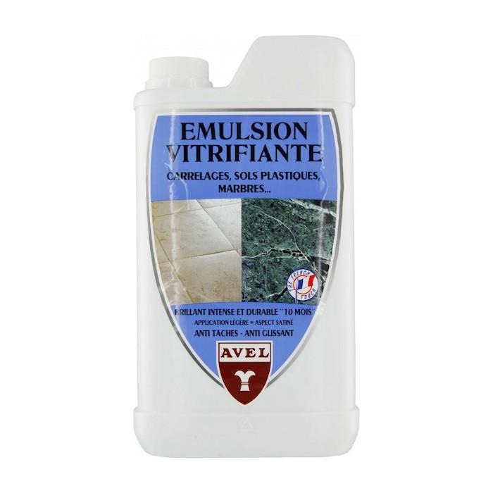 Emulsion Vitrifiante Plastique Carrelage Avel