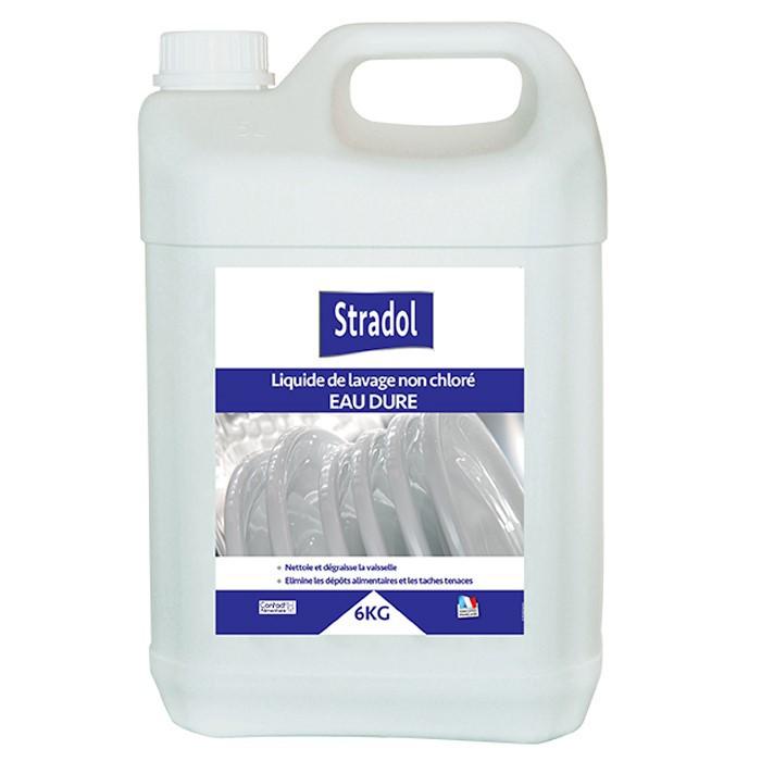 Liquide lave vaisselle non chloré eau dure 6kg