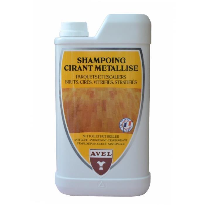 Shampoing Cirant Métallisé Parquets Avel