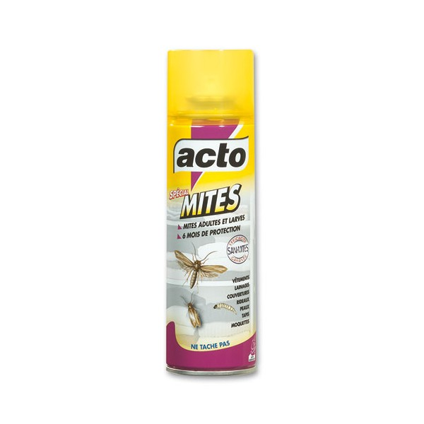 a rosol acto mites insecticide sp cial textile 300 ml distriver. Black Bedroom Furniture Sets. Home Design Ideas