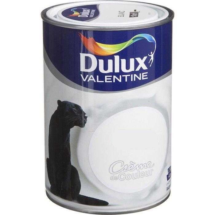 cr me de couleur dulux valentine 1 25 l daim distriver. Black Bedroom Furniture Sets. Home Design Ideas
