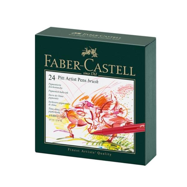 Feutre Pitt Artist Pen studio box de 24 Faber Castell