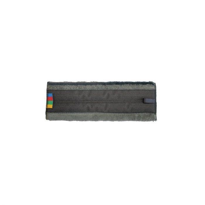 Frange microfibre velcro 40 cm pour support rail aluminium ICA