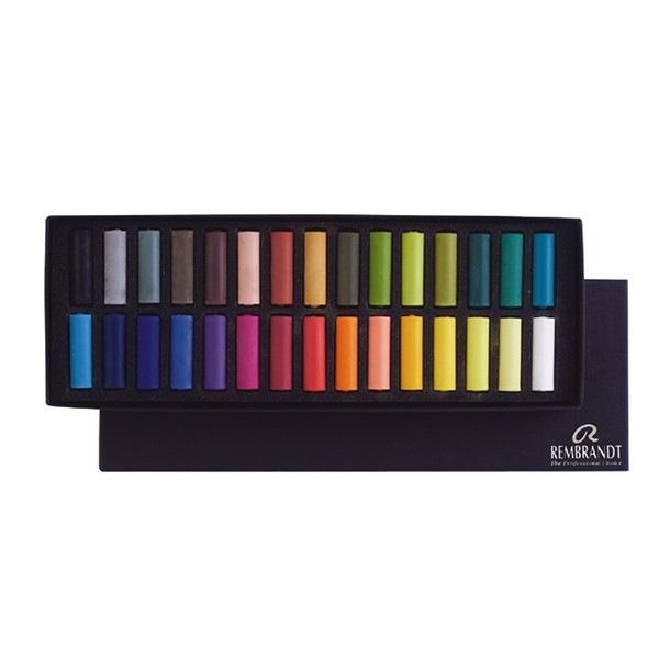 Set pastels tendres Rembrandt 30 demi pastels