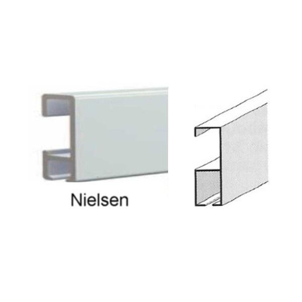 Cimaises Nielsen blanc 300 cm à peindre